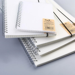 50/80 pages spiral notebook A4
