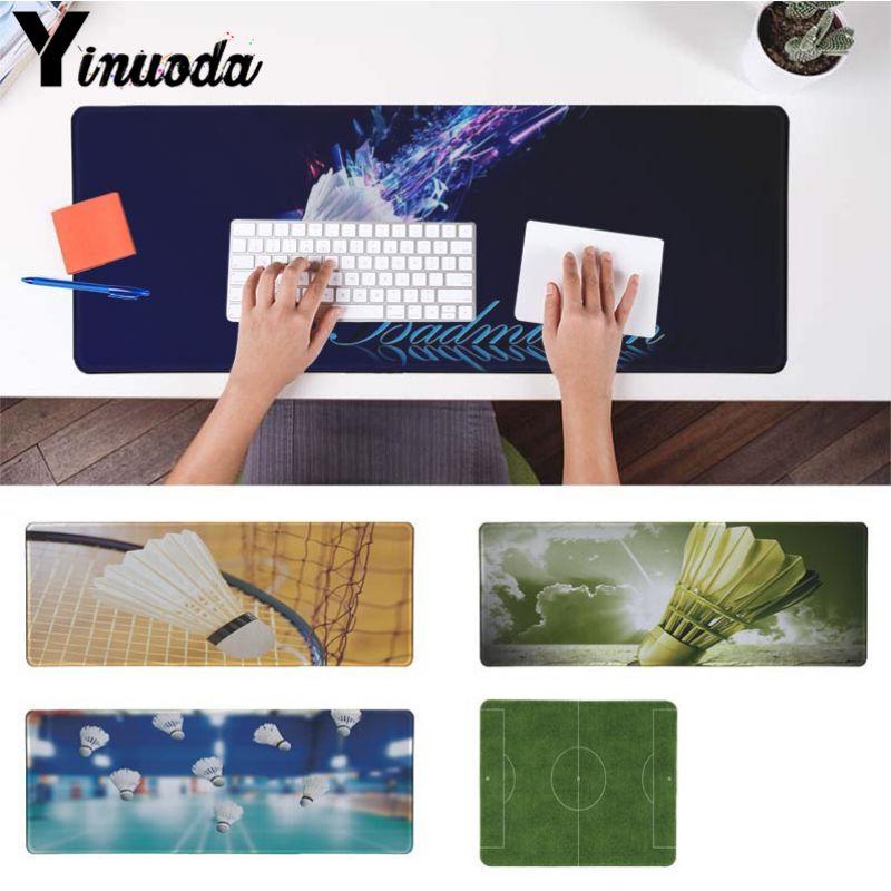 Yinuoda Прохладный Новый Бадминтон мяч игровой плеер стол ноутбук резиновая Мышь коврик Размеры для 18x22 см 20x25 см 25x29 см 30x90 см 40x90 см