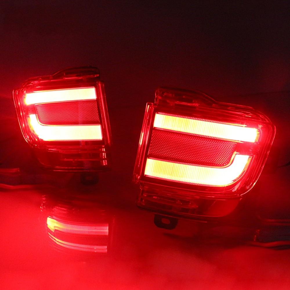 Vland LED parachoques trasero reflector luz trasera para land cruiser - Luces del coche