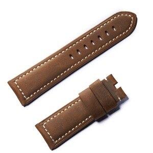 Image 3 - שונית טייגר/RT הספורט שעונים צפו בנד עבור גברים שעון עור חום השחור רצועה עם אבזם RGA3503 RGA3532