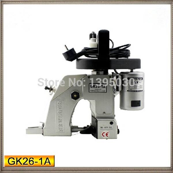 Portable Electric Sewing Machine Automatic Oiling Woven Bag Packing Machine GK26-1A For Woven bag/Snakeskin bag/Sack 1pc/lot  1pc gk9 018 automatic tangent tool single needle thread chain stitch portable bag woven sewing machine