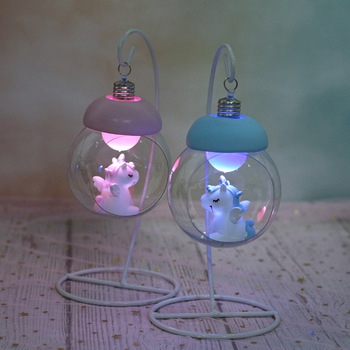 Resin Unicorn LED Lamps