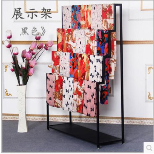 Fabric Exhibition Stand Year : Iron scarf rack fabric display stand new clothing