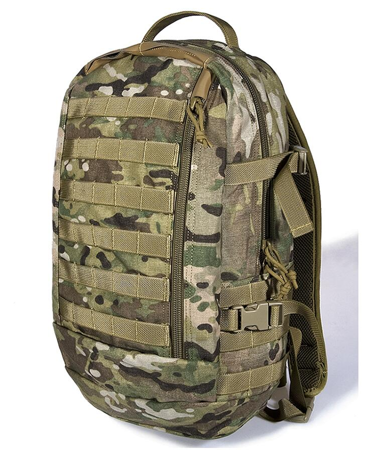 FLYYE 26L ILBE Assault Backpack MOLLE Military camping hiking modular combat CORDURA PK-M013