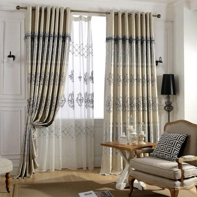 rideaux pour salon salle manger chambre versailles ombre rideau tissu fabricant vente directe de style