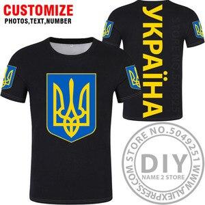 Image 4 - Футболка «сделай сам», «заказ», «имя», «ukr», «Национальный флаг», «Украина», «фото», «логотип», 3D принт