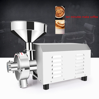Commercial Flour Grinder Electric 3000W Stainless Steel Grain Spices Herbal Medicine Milling Grinding Abrasive Machine Type 3000