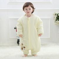 2018 autumn winter 100% cotton toddler sleepsacks solid Split leg baby sleeping bag multis size age fit kid sleepsacks