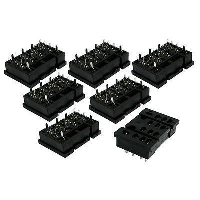 7 Pcs x Plug in PCB Mount 14 Pin Power Relay Socket Base for LY4NJ HH64P 5piece details about ptf14a relay socket base for ly4nj hh64p l power relay brand new