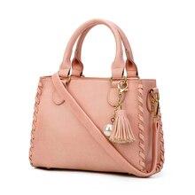 Hand Tasche Grau Frauen Nubukleder Handtaschen Quaste Vintage Taschen Retro 2017 Schulter Für Mädchen Tag Tasche Damen Handtasche Marken Tote