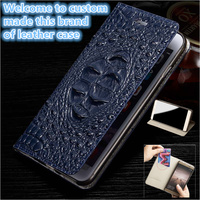 HX13 Genuine Leather Flip Phone Case With Card Slot For Huawei Honor V10 Cover Case For Huawei Honor V10 Flip Case