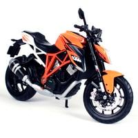 Maisto 1:12 KTM 1290 super eend R oranje motorfiets diecast motor model voor verzamelen 1/12 motorfiets model voor jonge 13065