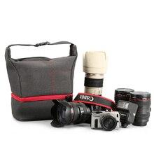 Dslr câmera bolsa de ombro para canon eos 1300d 5d 6d 5dii 800d 750d sony a7 ii iii a9 a77 7rm2 a99 a7rii a7ii nikon photo bag