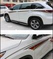 high quality! for 2014 2015 2016 Toyota Highlander car body sticker car decal auto sticker auto accessories