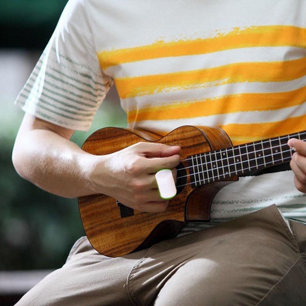 Guitar Mini Ukulele Sand Shaker Hammer Rhythm Maraca Cabasa Finger Ring Ukulele Accessories Music Toy For Kids