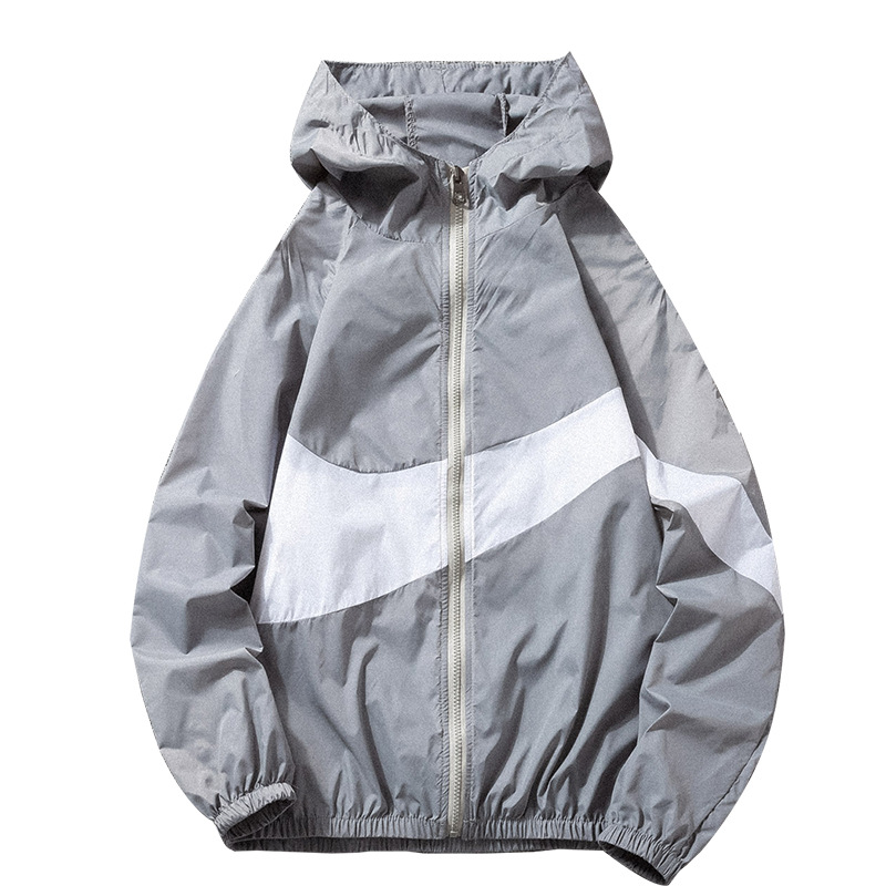 Mens Breathable Quick Dry Ultra-thin Jacket Outdoor Sunscreen Fishing Beach Coat