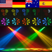 2Pcs/set 30W LED Moving Head Stage Light DMX512 DJ Disco Light Pub Party LED Effect Lights EU Plug 220~240V Hot Sale(China)