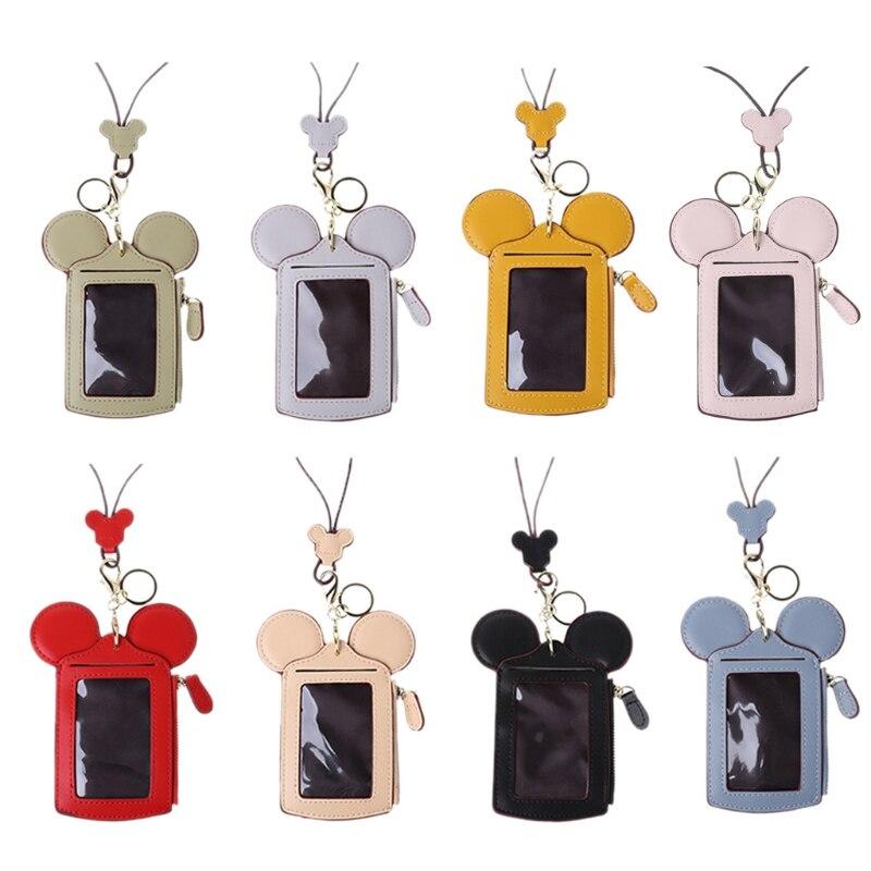 Милый держатель для карт в форме животного кошелек для денег сумка для женщин