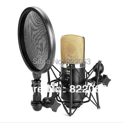 buy free shipping profect m audio nova karaoke microphone with shock mount for. Black Bedroom Furniture Sets. Home Design Ideas
