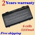 JIGU 5200 мАч X51L X51R X51RL ноутбук аккумулятор для Asus A32-X51 90-NQK1B1000Y A32-T12 T12Fg T12Ug X51C X51H