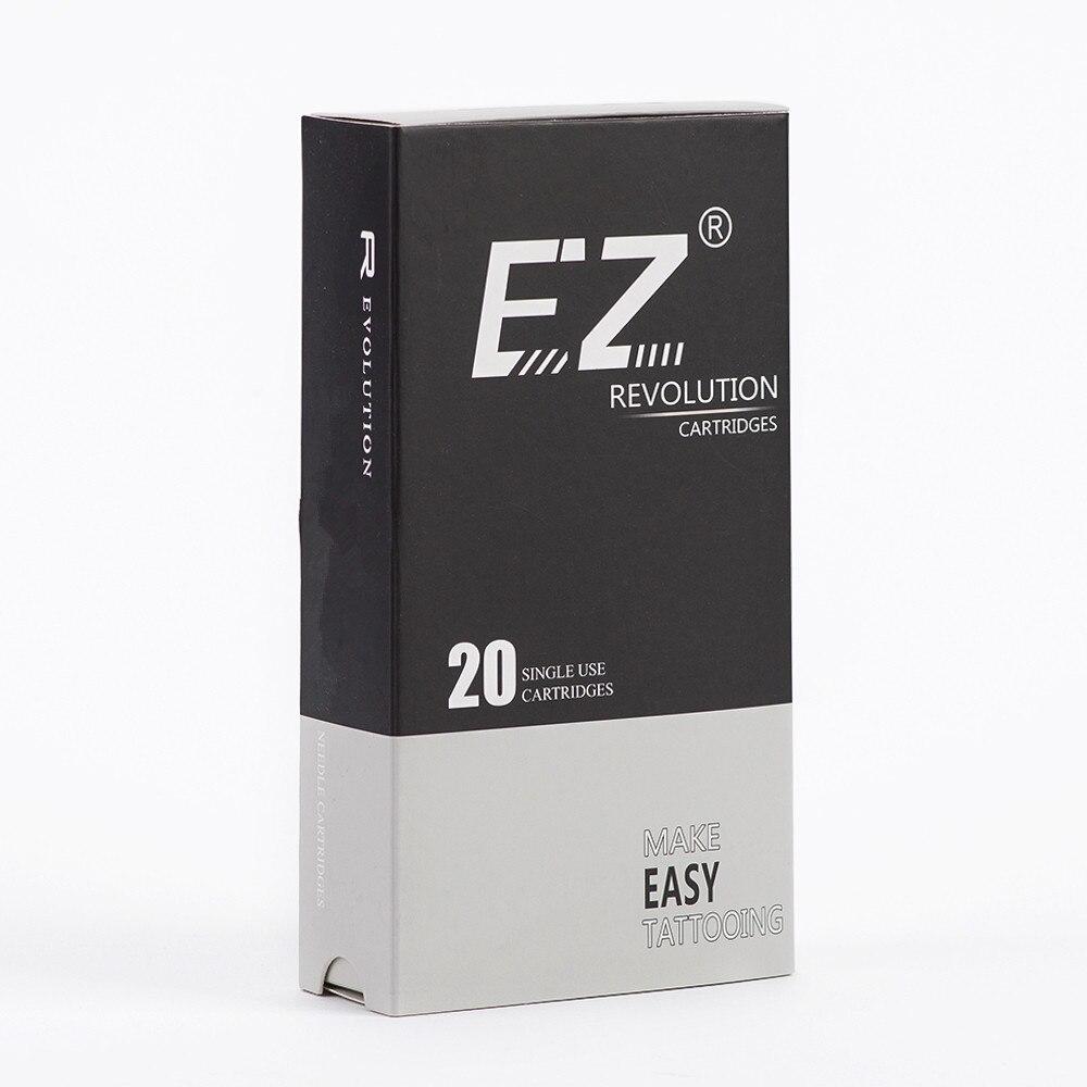 EZ New Revolution Needle Cartridge 08 Bugpin 7.0 Mm Super Tight L  Taper Round Liner Tattoo Needle 20PCS/Box
