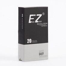 EZ Revolução Bugpin Agulhas Cartucho #08 (0.25mm) forro rodada Agulhas de Tatuagem 7.0mm Super Apertado L-Taper 20 pçs/caixa