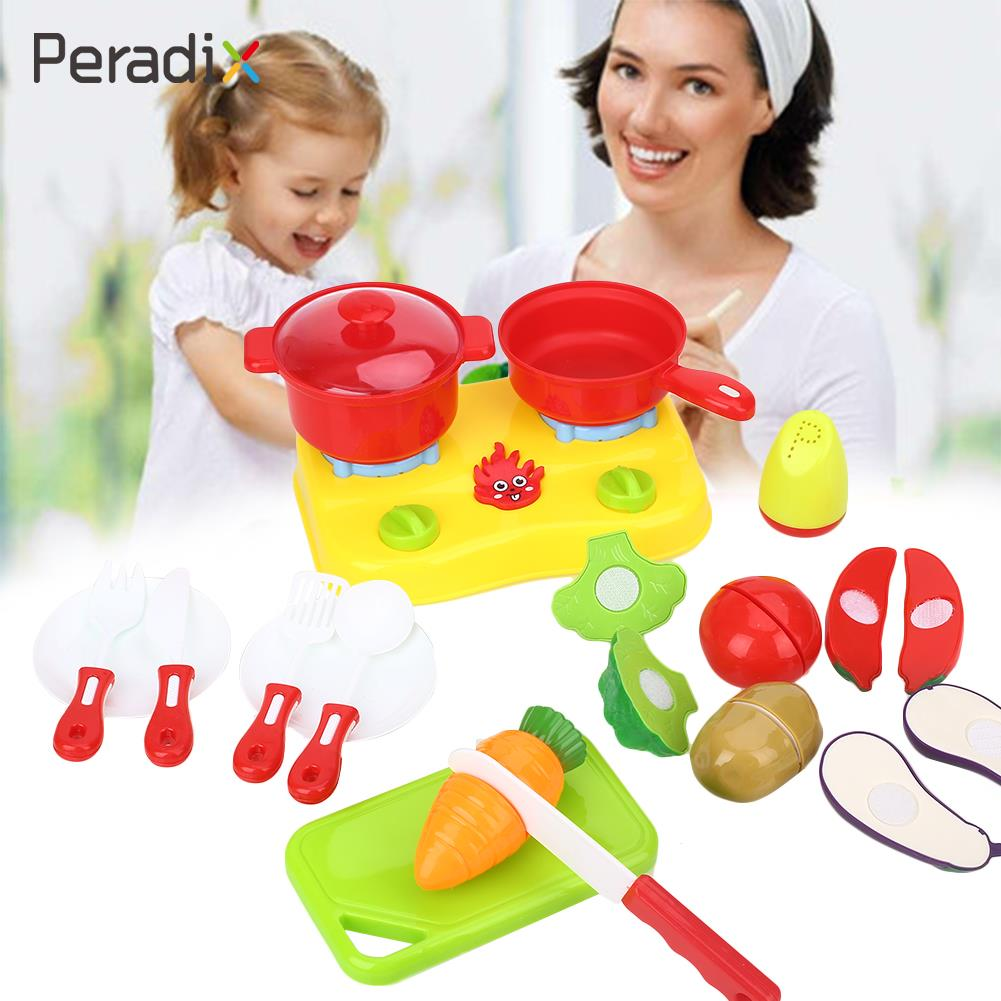 Pretend Kitchen Tools Educational Pretend Cutting Playing Hand Operation Ability Holiday ...