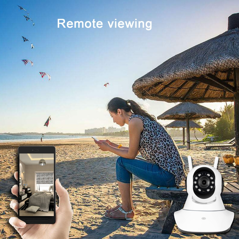 Image 5 - HD 1080P 2MP Home Security IP Camera Wireless Samrt Mini PTZ Audio Video Camara Nanny CCTV Wifi Night Vision IR Baby Monitor-in Surveillance Cameras from Security & Protection