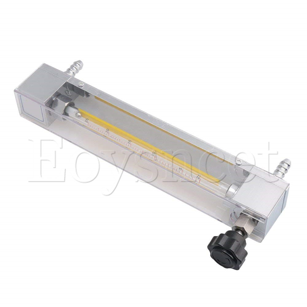10.7x3.4x23.9cm Acrylic LZB 6 Water Liquid Flowmeter 2.5 25 L/H Flow Measuring fit 10mm Hose|Flow Meters| |  - title=