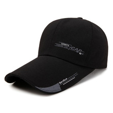 Outdoor Sports Fashion Line Long Brim Sunscreen Baseball Cap Adjustable Casual Men's Sun Hat  Snapback Caps