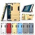 Para huawei honor 5a 5c caso armadura resistente à prova de choque duro pc + tpu 2 em 1 caso de telefone híbrido para huawei honor 5x com suporte hu1404