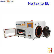 (EU Free Taxes!) LY 899T 5 in 1 OCA Laminator with Buit-in Pump & Air Compressor bubble remover
