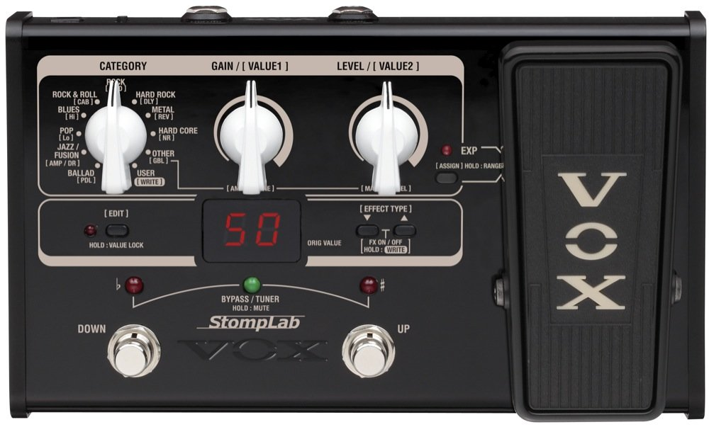 Vox StompLab IIG 2G Modeling Guitar Effect Processor цена 2017