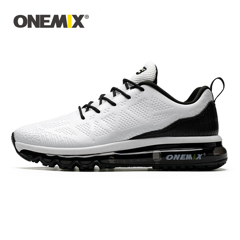 ONEMIX 2019 Summer Running Shoes for Men Sneakers Lovers Sport Shoes Waterproof Leather Outdoor Athletic Jogging