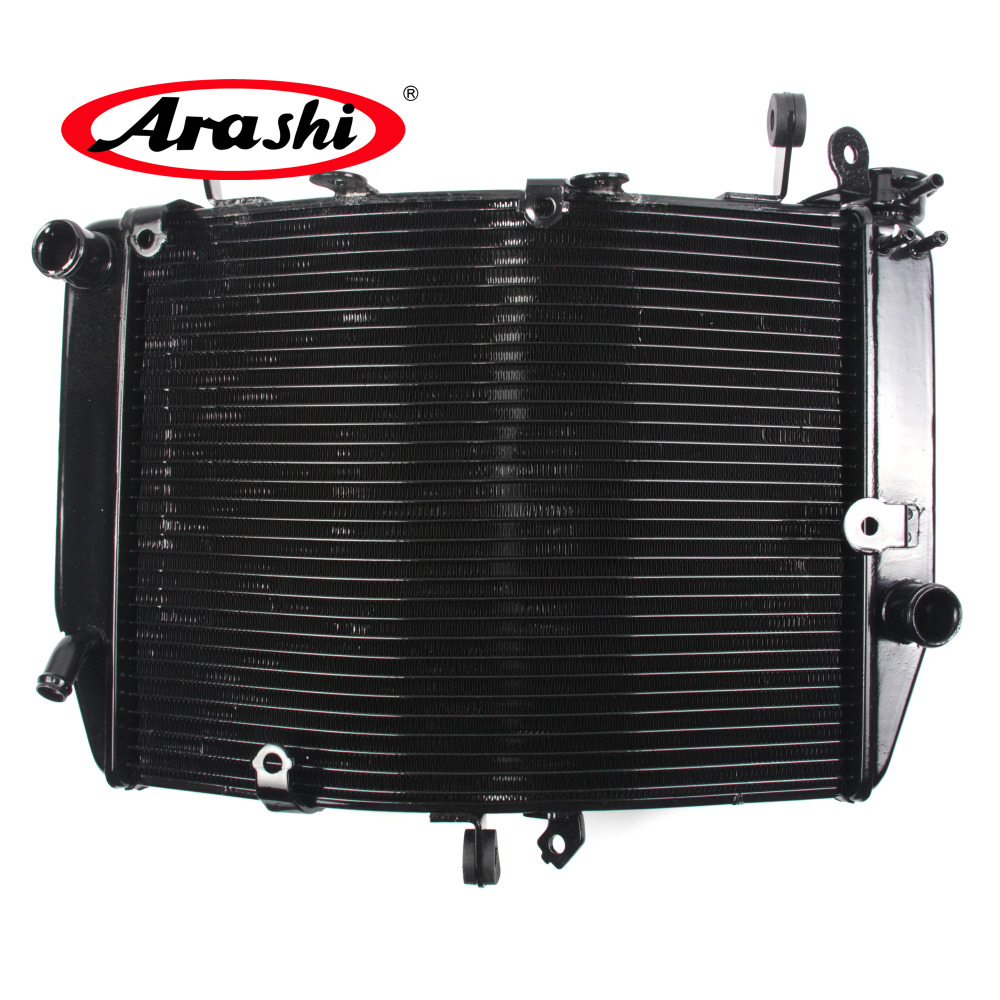Arashi New Radiator For YAMAHA YZF R6 2003 2004 Motorcycle Cooler Radiator Aluminum Water Cooling Part