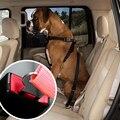Pet Автомобильные Путешествия Сдержанность Собака Ремень Безопасности Кабельный Жгут Авто тяговые Приводит С 21 мм Шириной Camlock Металлический Зажим-Черный Красный