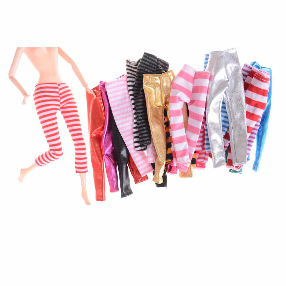 1435a1606ac47 ... 3pcs For Blyth Licca Dolls Outfit Doll Pants Trousers Pantyhose Cotton  Clothes For Barbie Doll Accessories ...