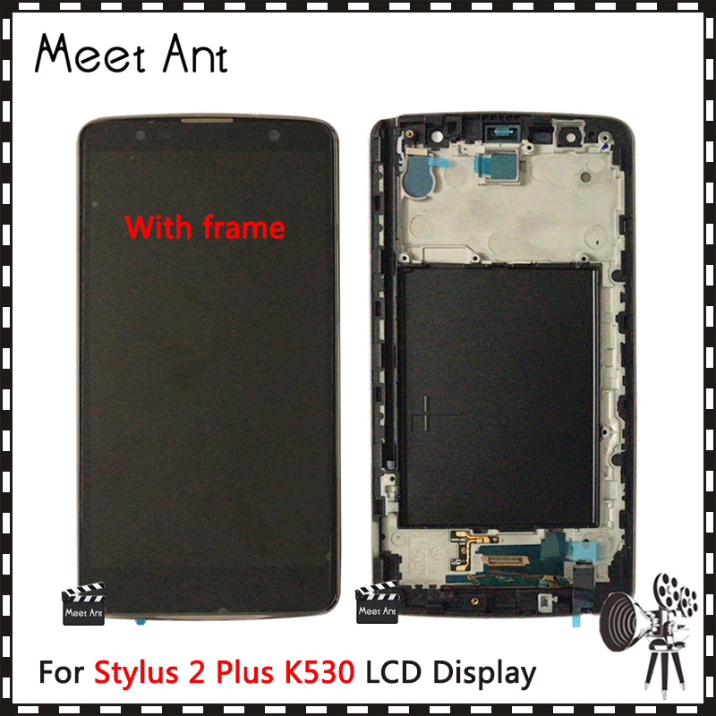 DHL 10pcs High Quality 5.7'' For LG Stylus 2 Plus K530 K530F LCD Display Screen With Touch Screen Digitizer Assembly