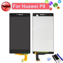 White Black Gold For Huawei P8 LCD Display WithTouch Screen Digitizer GRA-L09 GRA-UL00 GRA-UL10