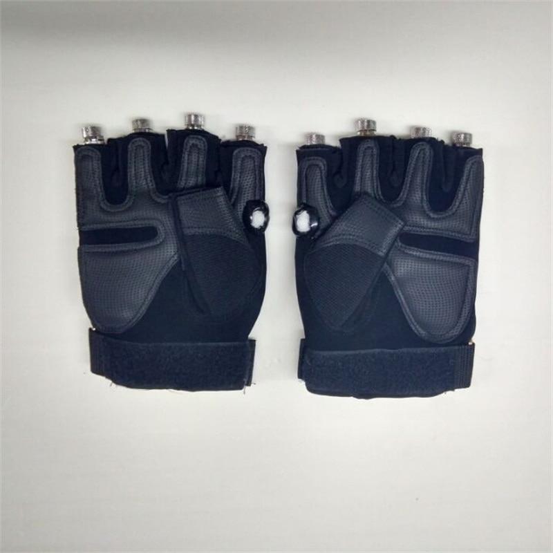 Novi dizajn veleprodajna cijena dj 4pcs zelene laserske rukavice za - Za blagdane i zabave - Foto 2