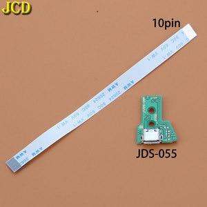 Image 5 - JCD ل PS4 تحكم USB ميناء الشحن شاحن مقبس مجلس مع الشريط فليكس كابل JDS 001 JDS 011 JDS 030 JDS 040 JDS 055