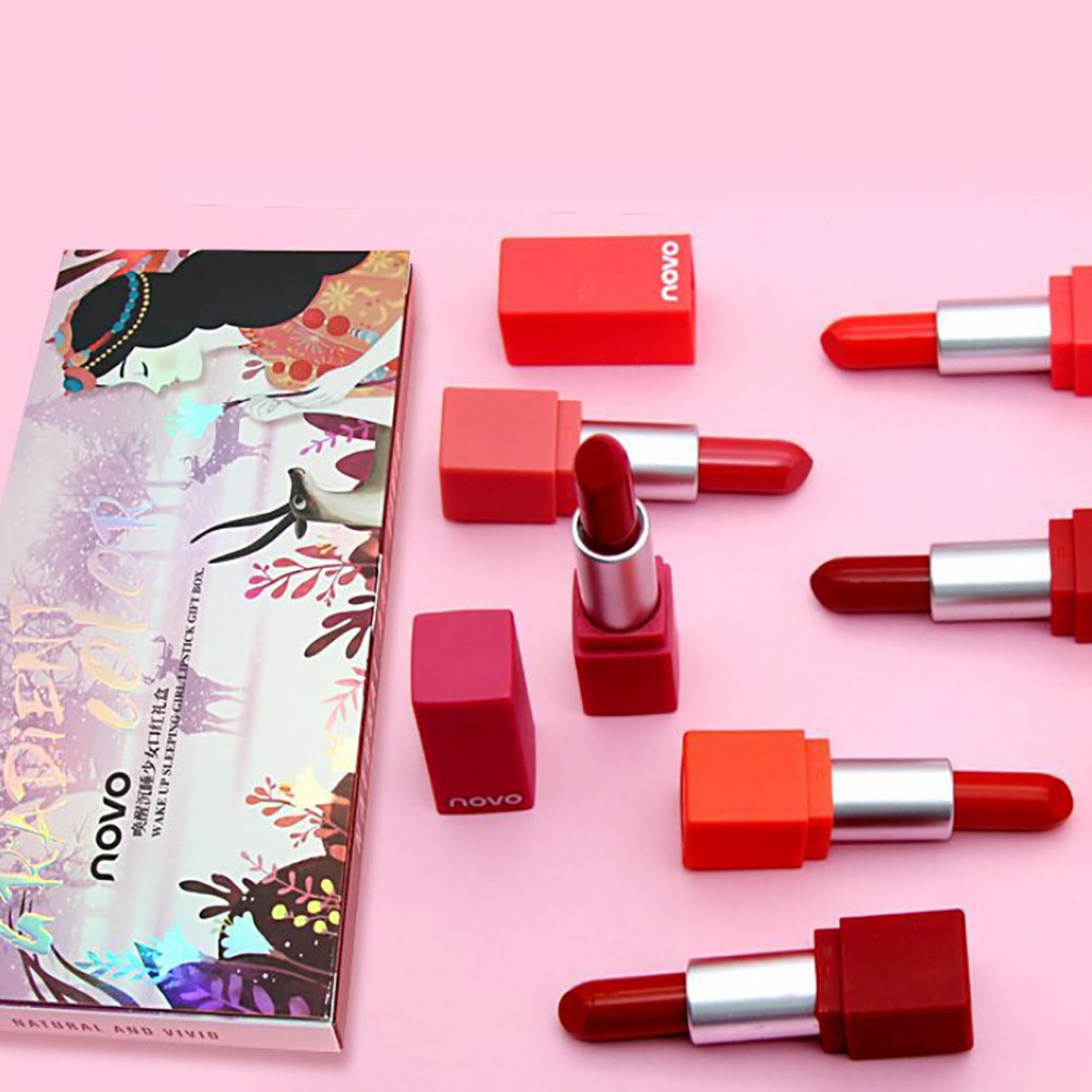 Back To Search Resultsbeauty & Health Objective Beauty Glazed Lipstick Lipstick Cosmetic Sexy Lip Gloss Kit Long Lasting Lip Cosmetic Makeup Gift Rouge A Levre Rouge #yl10 Making Things Convenient For Customers Beauty Essentials