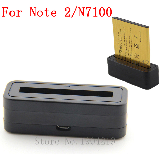 N7100 Battery Charger Usb Wall Travel Dock Adapter For Samsung Galaxy Note 2 N7100 GT-N7100 N7105 Mobile Phone Charger Dock