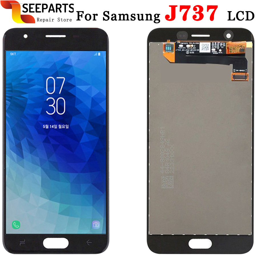 LCD For <font><b>Samsung</b></font> <font><b>Galaxy</b></font> <font><b>J7</b></font> <font><b>2018</b></font> J737 LCD <font><b>Display</b></font> Touch Screen Digitizer Assembly Repair Parts J737A J737P J737V J737T <font><b>Display</b></font> image