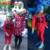 2016 Nueva Primavera Otoño Unisex Conjunto Ropa Patrón de la Letra de Manga Larga Pullover Sweater + Pantalones Harén Traje de Juegos para Niños y Niñas