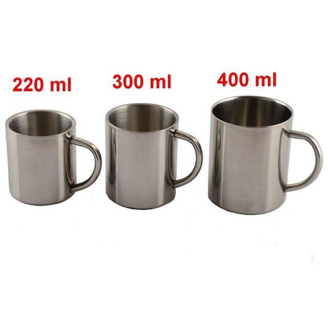 Double Wall Stainless Steel Coffee Mug 4