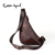 Cobbler legend 2016 pacote de peito de couro genuíno couro ocasional grande saco do mensageiro dos homens de estilo inglaterra homens de telefonia móvel sacos de 1205086-1