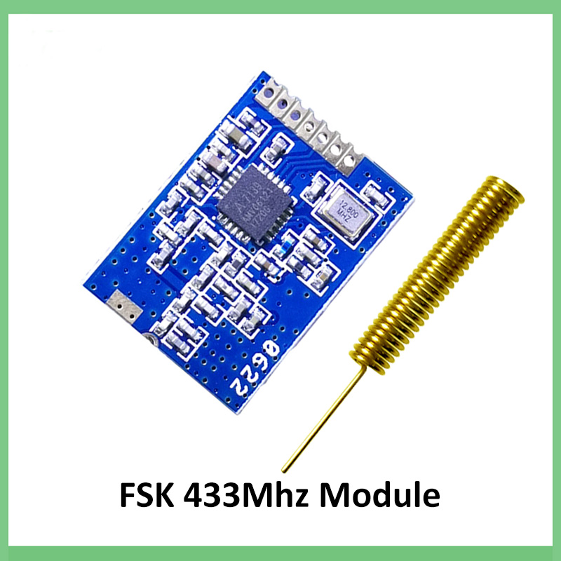 1Pcs CC1101 Wireless Module Long Distance Transmission Antenna 868Mhz aa