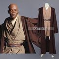Star Wars Mace Windu Tunic Costume Star Wars Costume Jedi Knight Cosplay Costume With Cloak Cosplay Clothing Adult Custom Made