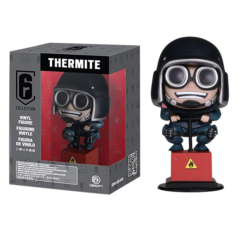 Rainbow Six Siege 10cm figure toys Thermite Action Figure Hot Toys Desktop Decor christmas gift-in Action & Toy Figures from Toys & Hobbies